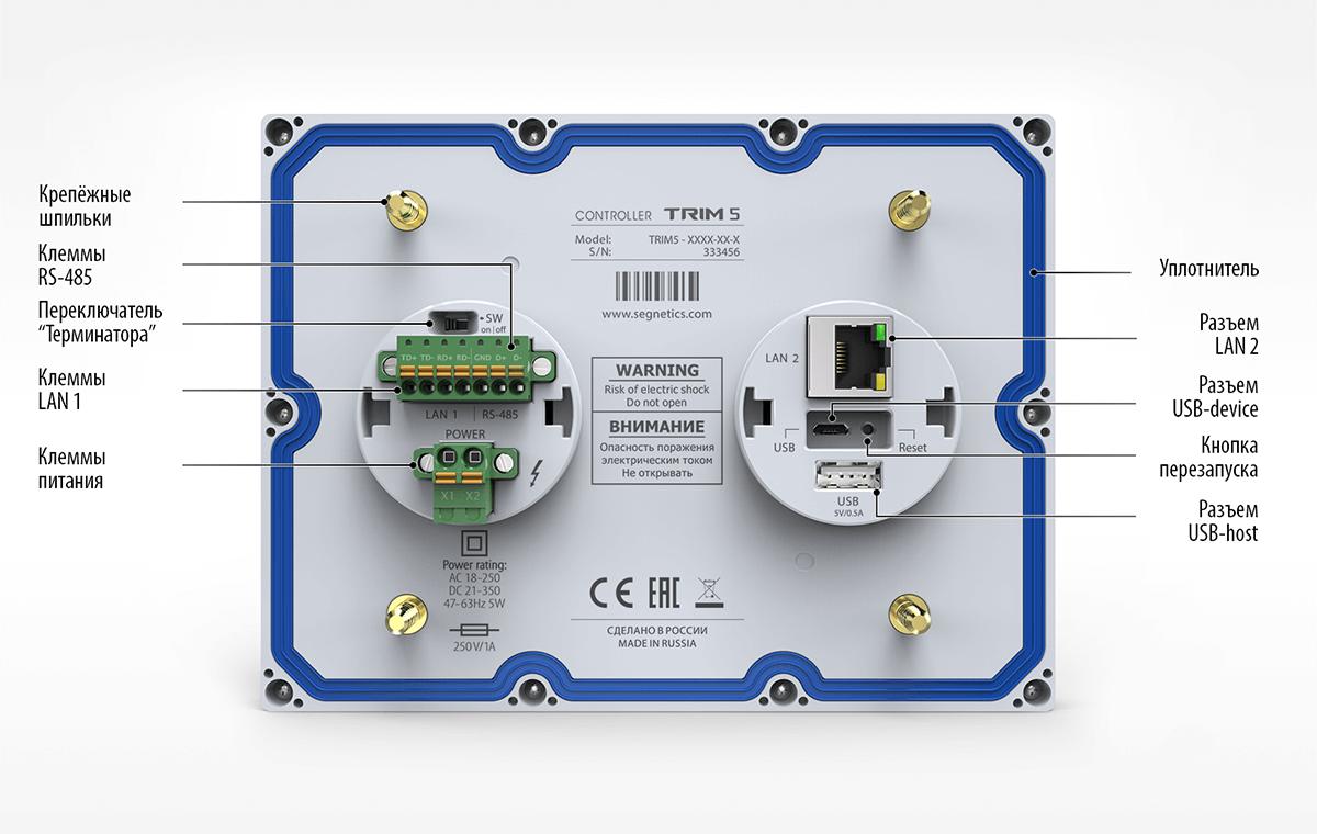 Инструкция контроллера segnetics